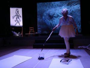 Joan Jonas, Reanimation, at Performa13. (Photo courtesy Performa)