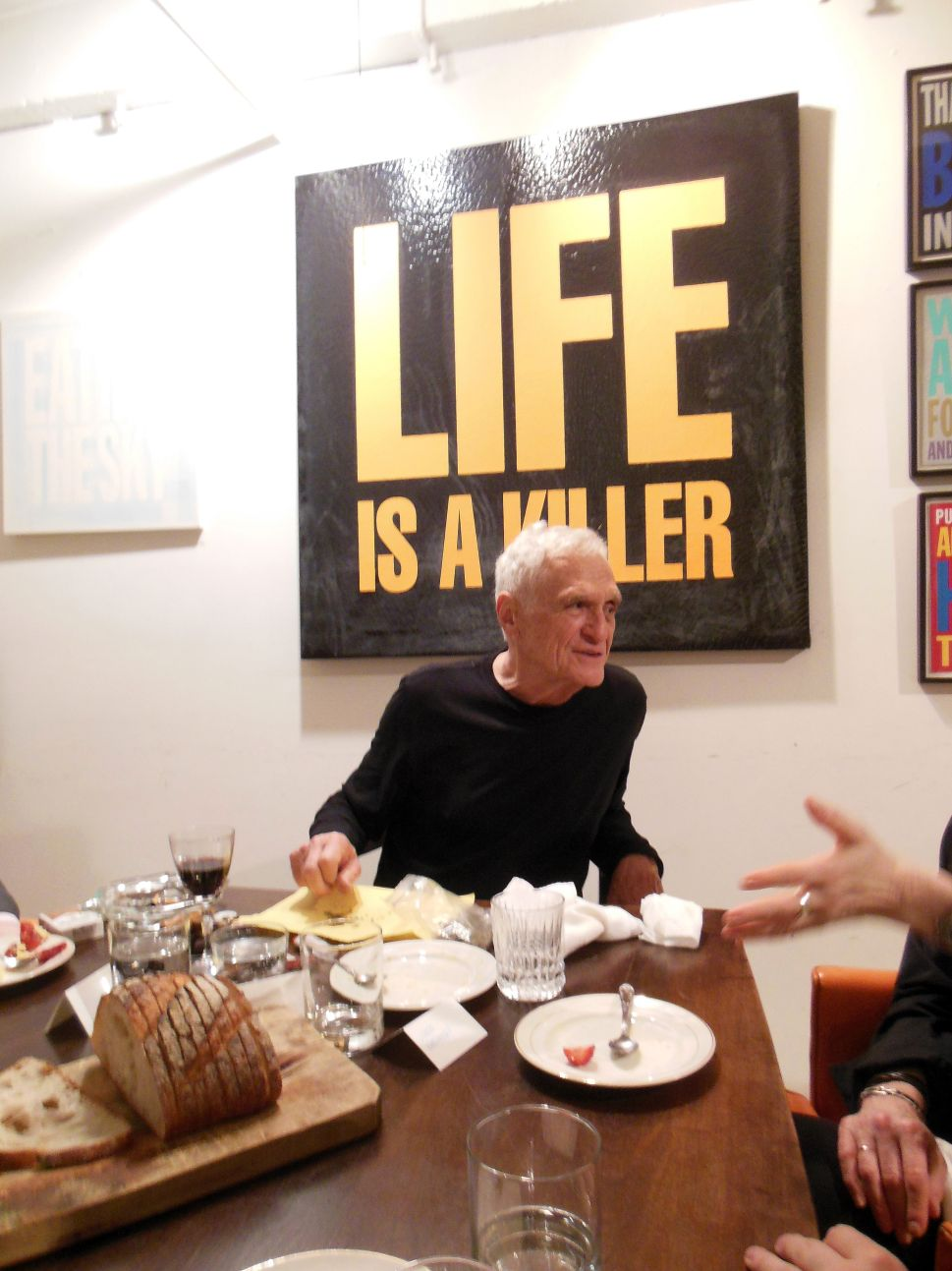'Don't Wait For Anything': Dinner With John Giorno, and the Ghost of Burroughs