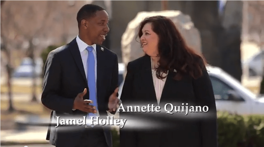 NJEA backs Holley and Quijano in LD20