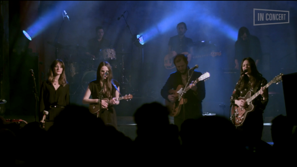 Watch: The Staves Perform 'Make It Holy' Featuring Justin Vernon of Bon Iver