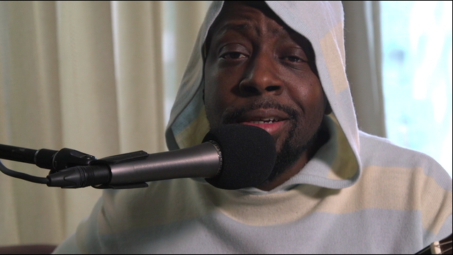 Wyclef Jean Performs New Song and Shares His Wisdom