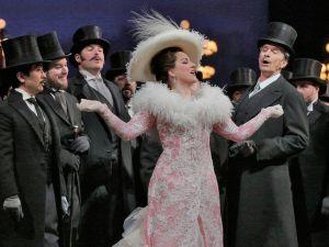 Diana Damrau as Manon, at the Met. (Ken Howard/Metropolitan Opera)