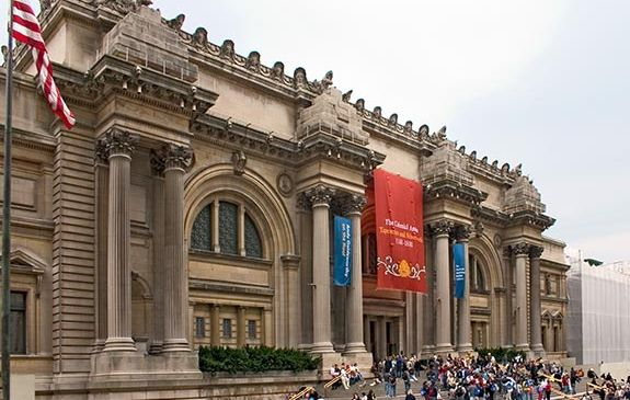The steps of the Met. (Courtesy the Met)