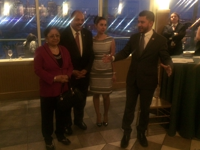 Mukherji fundraiser draws statewide power to J.C. as Hudson roils