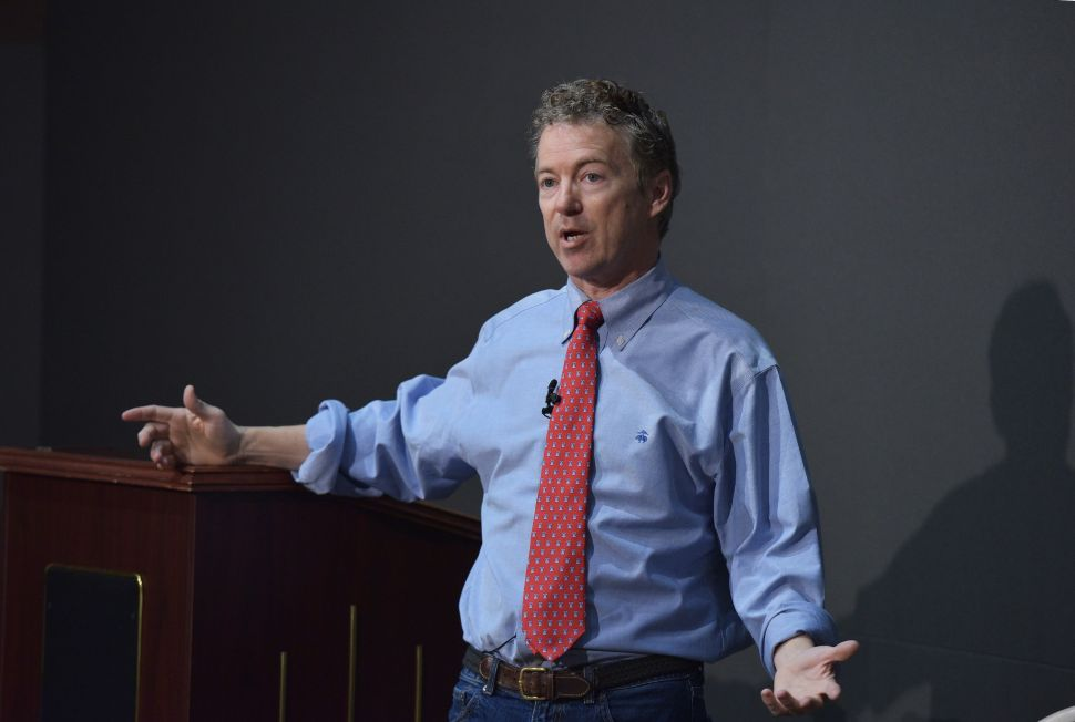 How Did the Times Know When Rand Paul Fell Asleep on Saturday Night?