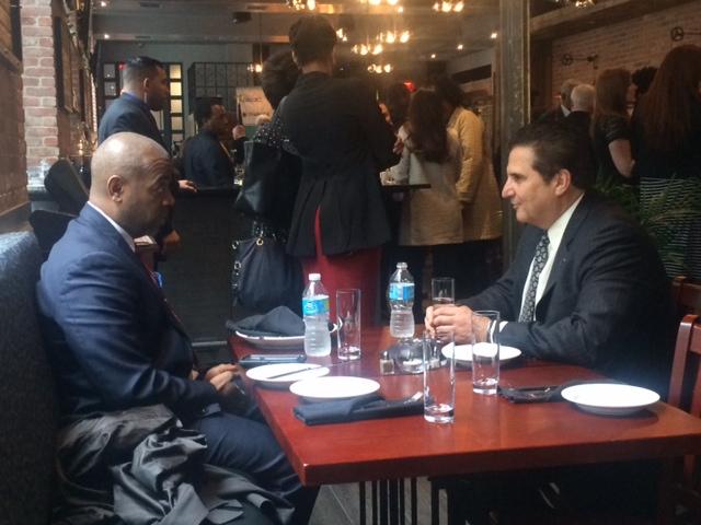 Baraka and DiVincenzo sit down in Newark