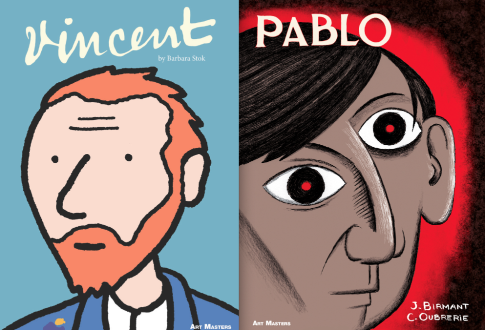 The Lives of Van Gogh and Picasso Get the Graphic Novel Treatment