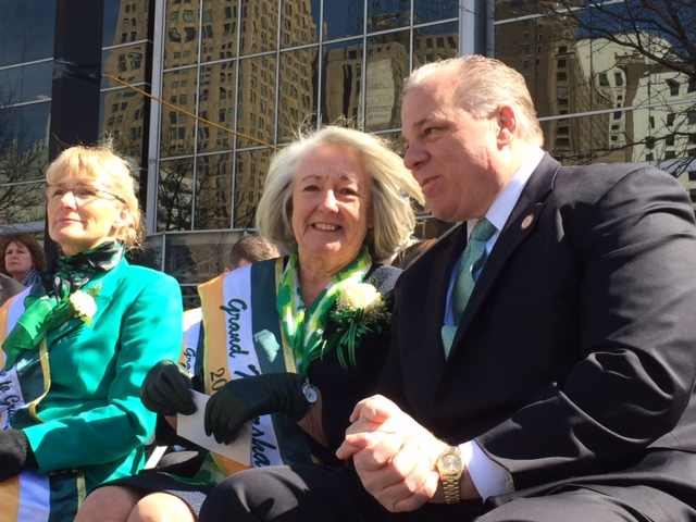 Newark Saint Patrick's Day parade brings Sweeney to North Jersey
