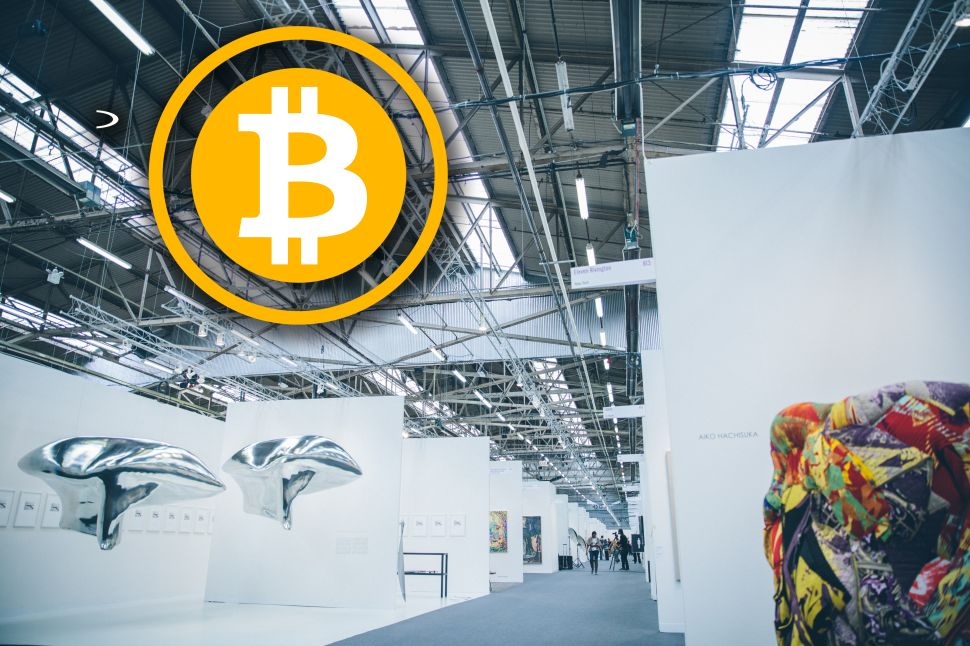 Nobody Buys Art With Bitcoin