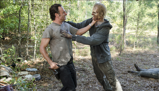 'The Walking Dead' 5×12 Recap: Sleepover!