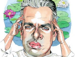 Illustration of Eric Ripert by Paul Kisselev