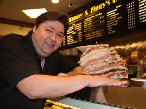 David 'Ziggy' Gruber, a restaurant owner in Houston, Tex., is the de facto star of Erik Anjou's latest documentary, Deli Man. (Photo: Cohen Media Group)