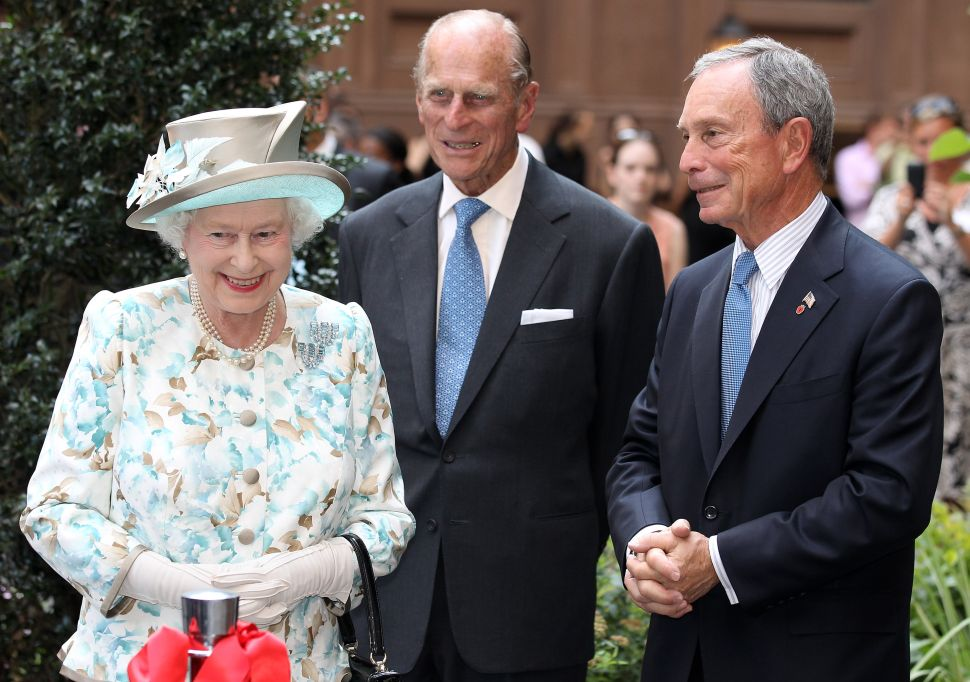Afternoon Bulletin: Bloomberg Officially Becomes an 'Honorary Knight'