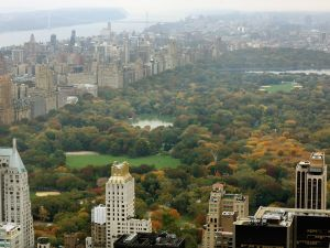 Manhattan and Central Park (Photo: Mario Tama/Getty Images)