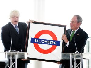 Despite denial that he will run, London Mayor Johnson is urging former Mayor Michael Bloomberg to take over on the other side of the pond. (Photo: Matthew Lloyd/Getty Images)