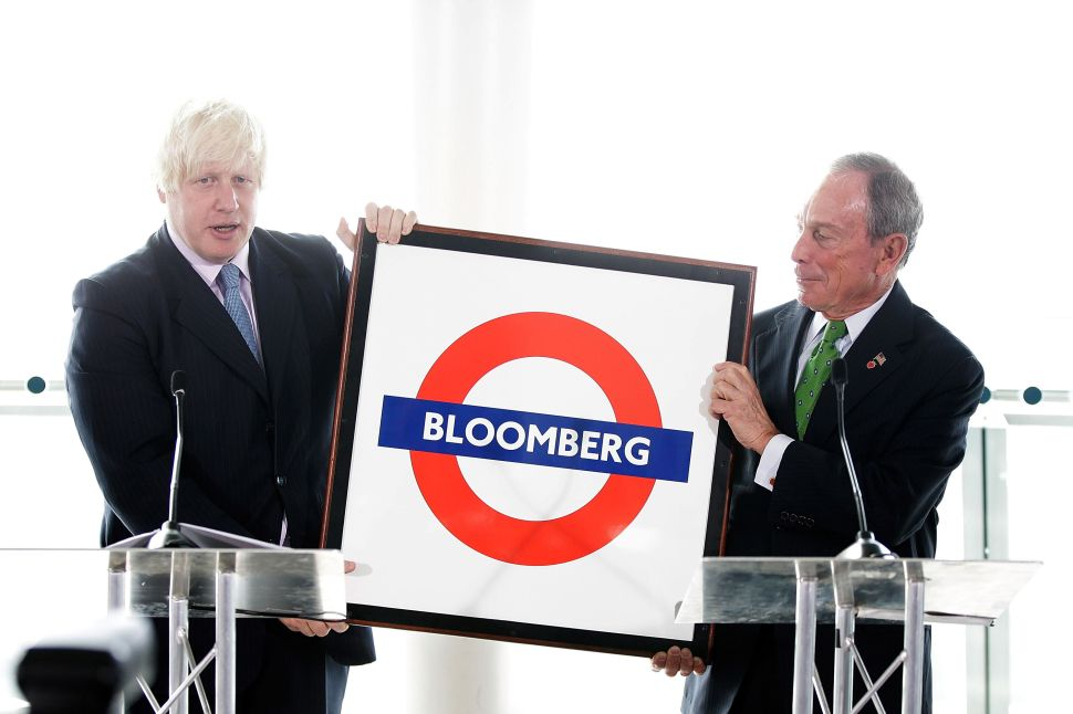 Afternoon Bulletin: 'Zillionaire' Bloomberg Sets Sights on London and More