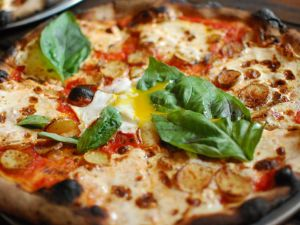 Roberta's potato and egg pizza. Photo: Howard Walfish/Flickr Creative Commons