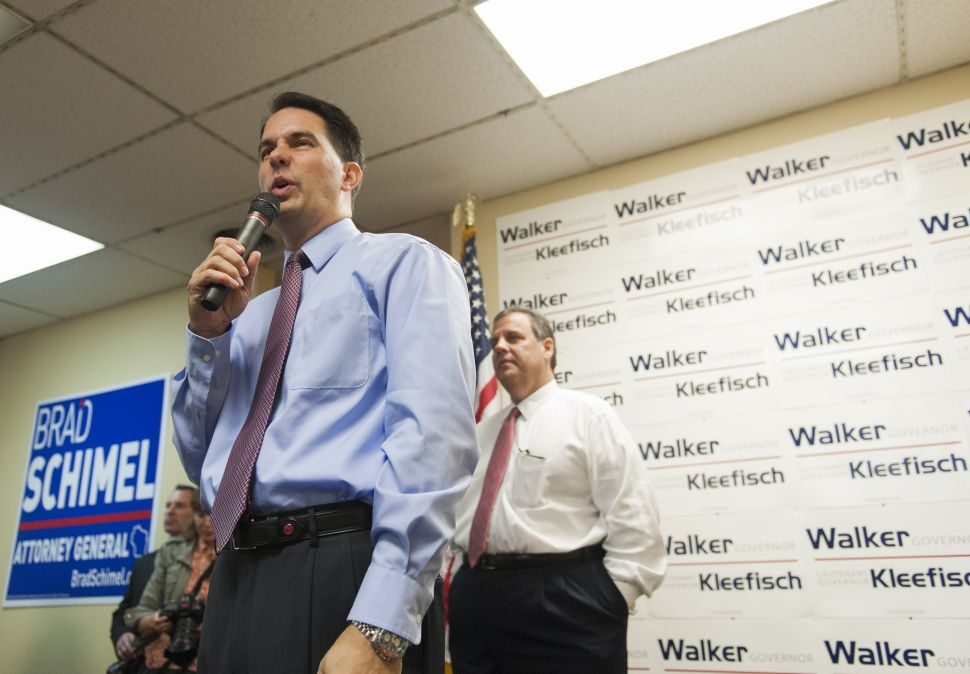 Walker, Christie Team Up for RGA Fundraiser in NJ