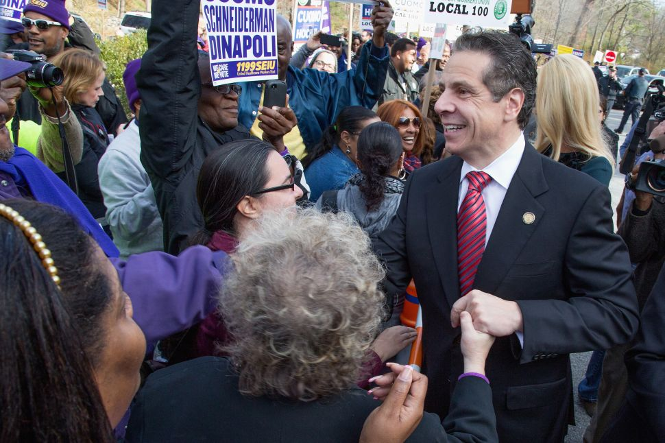 Andrew Cuomo Says He Hates Having to Run for Re-Election