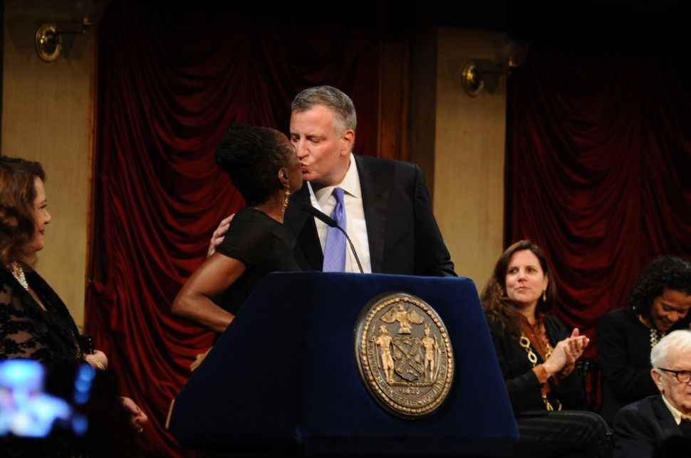 Bill de Blasio Says He Had a 'Glorious' Romantic Getaway With His Wife
