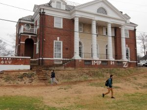 UVA's Phi Kappa Psi fraternity house, one of the subjects of the now-retracted Rolling Stone story.