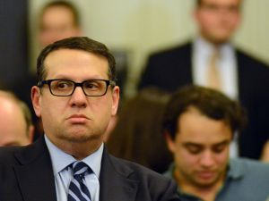 David Wildstein, seen here at a hearing held by the Assembly Transportation Committee on January 9, 2014 in Trenton, had been director of interstate capital projects for the Port Authority.