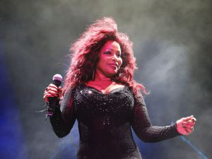 SYDNEY, AUSTRALIA - JANUARY 11: Chaka Khan performs live at Sydney Festival 2014 at The Domain on January 11, 2014 in Sydney, Australia. (Photo by Don Arnold/Getty Images)