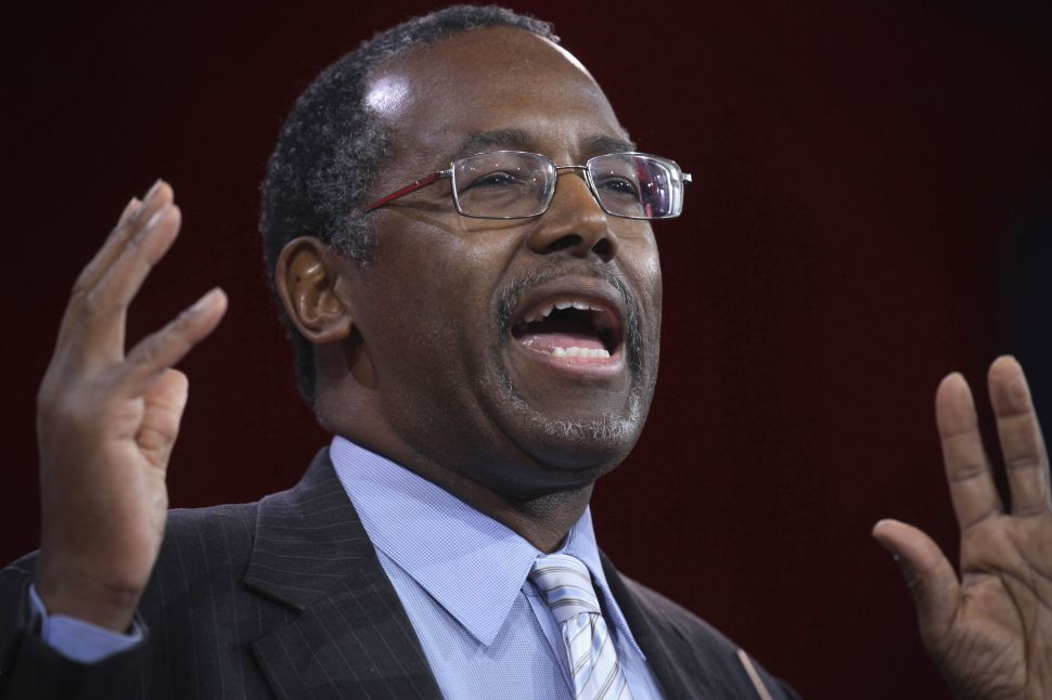 Ben Carson Says He Watched Walter Scott Shooting With 'Horror'