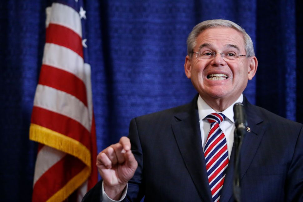 Menendez: Trump's Immigration Actions are 'Terrible and Ugly'