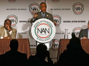 Rev. Al Sharpton at a National Action Network event.