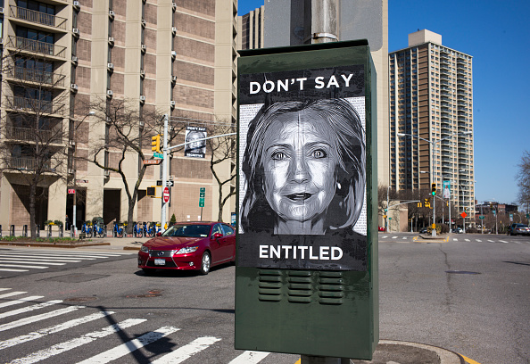 Afternoon Bulletin: Anti-Hillary Posters Dot Downtown Brooklyn and More