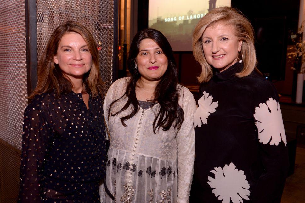 Jenna Lyons, Natalie Massenet, Arianna Huffington Celebrate Pakistani Music Doc