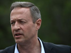 Potential Democratic presidential candidate and former Maryland Gov. Martin O'Malley. (Photo by Win McNamee/Getty Images)