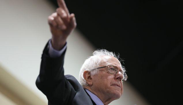 Sen. Bernie Sanders. (Photo by Win McNamee/Getty Images)