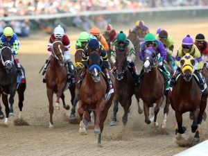 The Kentucky Derby takes place Saturday, May 2. (Photo: Getty Images)