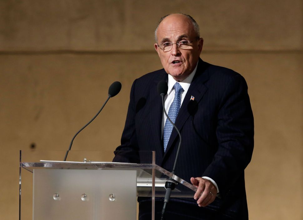 Giuliani Implies Cops Wouldn't Have Been Murdered If He Were Still Mayor