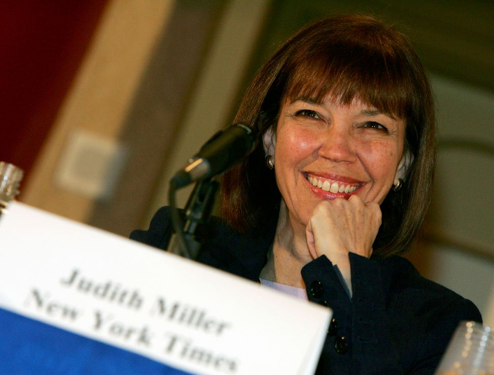 Judith Miller Carried Water for the USA's Worst Debacle Since Vietnam