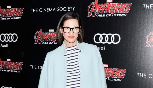 "Ms. Lyons at a screening of Marvel's ""Avengers: Age of Ultron"" on April 28. (Photo: Patrick McMullan)"