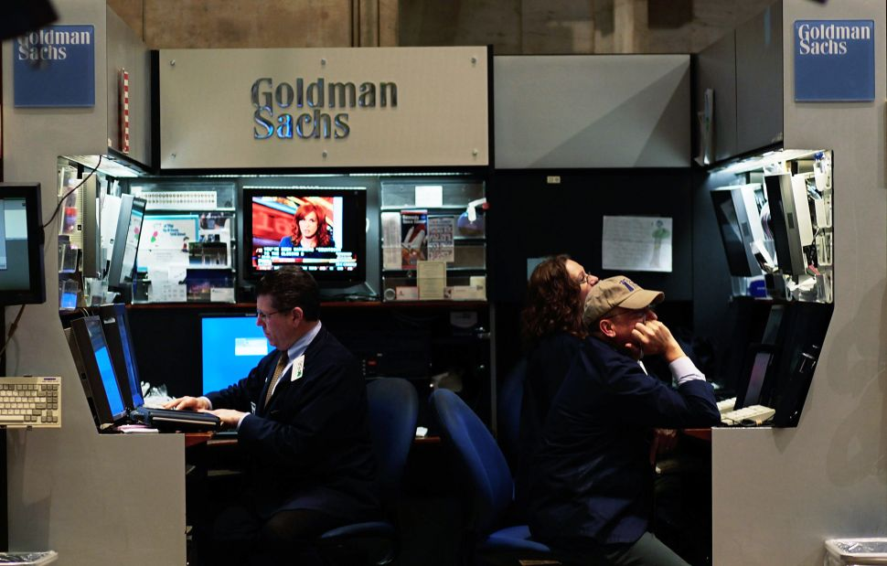 It's Happening: Goldman Sachs Just Dropped $50 Million Into a Bitcoin Startup
