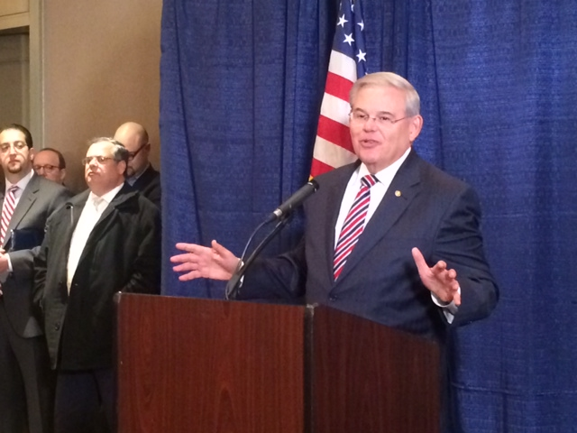 Menendez Denounces Republican Opposition to Obama SCOTUS Nomination