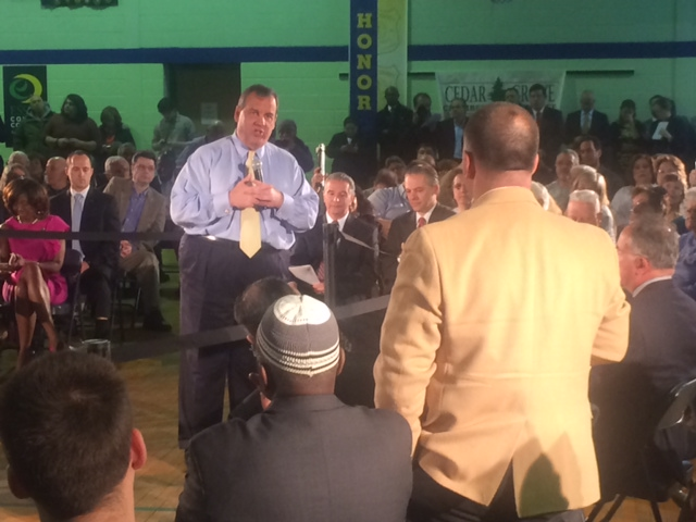 North Bergen politics interjected into Christie town hall meeting as anti-Sacco attack launched