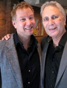 Composers Mark Adams and John Corigliano