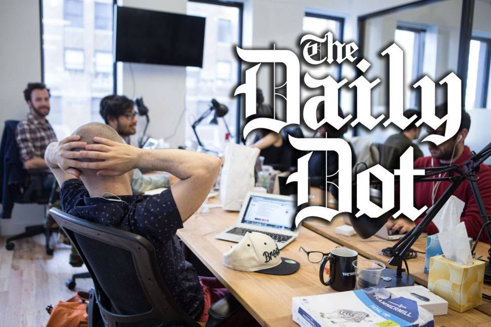 The Daily Dot's Island of Misfit Reporters Raises Over $10 Million