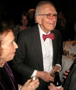 Dr. Eric Kandel and his wife Denise