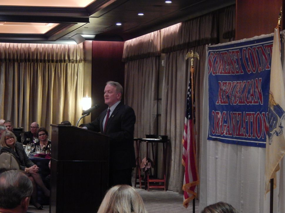 Menendez indictment barely an afterthought at Somerset Republicans Lincoln Day Dinner