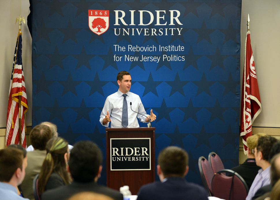 An Evening at Rebovich: Could Fulop put aside the BlackBerry?