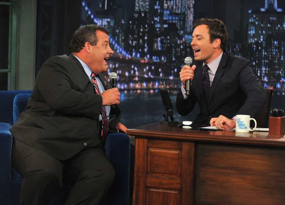 How Christie's used late night TV to his political advantage