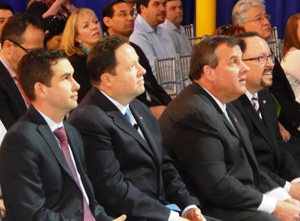 Goya, Unanue Family, the stars of the show as Christie and Fulop take center stage