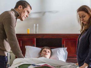 Michael Shannon, Charlie Tahan and Samantha Morton.