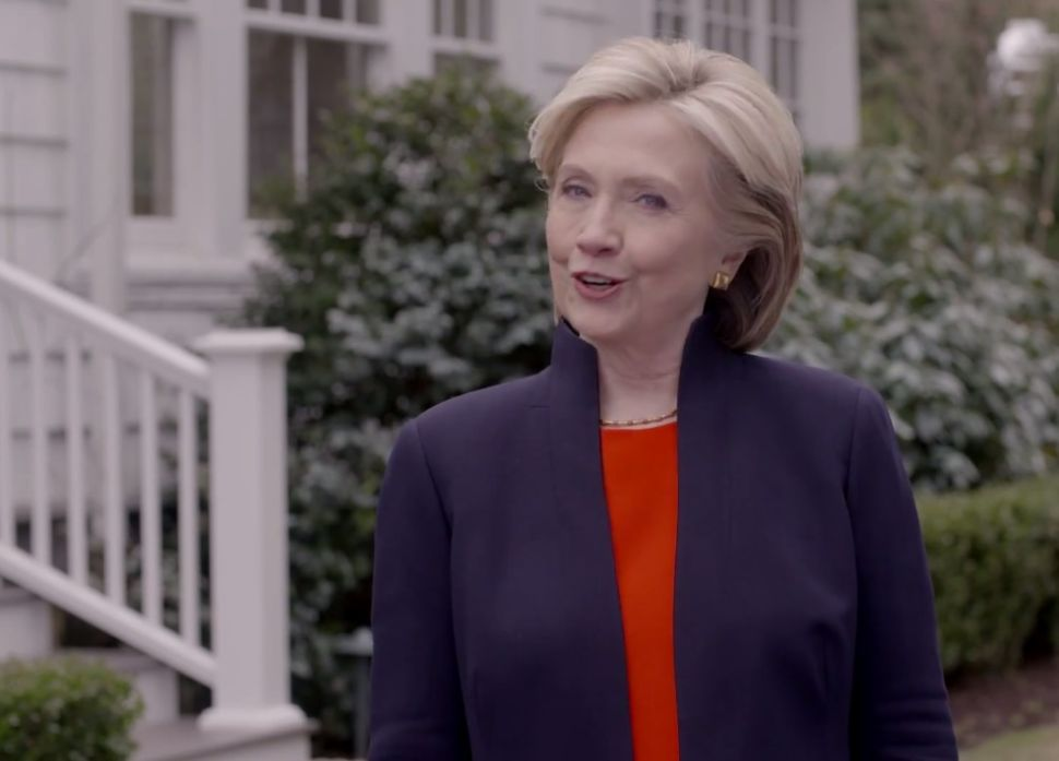 Hillary Clinton Finally Says She's Running for President